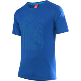 Löffler Transtex Single CF T-shirt à motif Homme, curacao
